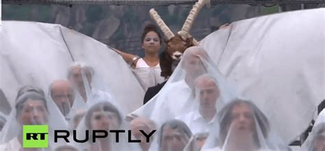 the opening ceremony of the world s largest tunnel was a occult ritual the vigilant