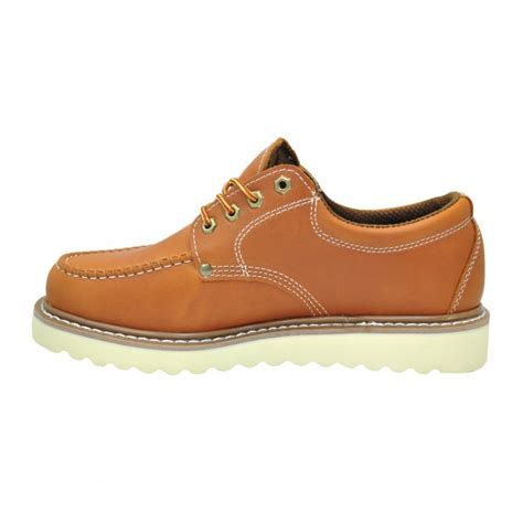 work oxford shoes s moc toe oxford work shoes golden fox usa