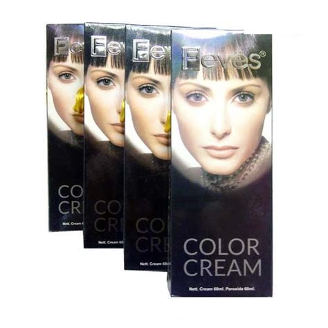 Cultusia 2 0 Black Hair Colour Cat Pewarna Rambut Hitam jual feves hair colour cat rambut feves kotak besar
