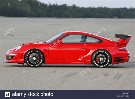 sports cars side view porsche gemballa 650 avalanche side view series car