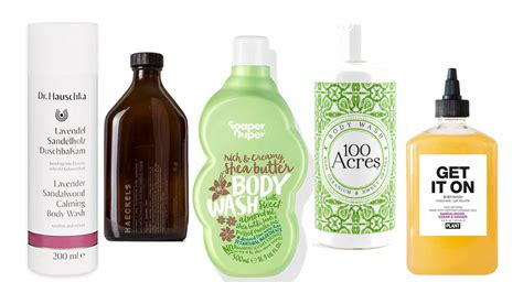 five of the best shower gels times2 the times