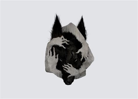 wallpaper abstract wolf wolf arms abstract creepy gray grey dark horror werewolf