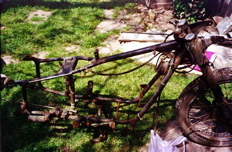 Motorrad Gabel Umwickeln by Karl 180 S Restaurationsbericht