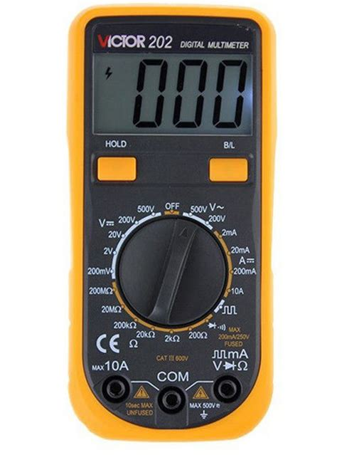 diode function multimeter digital multimeter with diode tester function backlight tvc 202 for sale electronic circuits