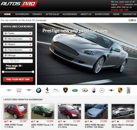 theme wordpress free car how to create a website like autotrader with auto pros