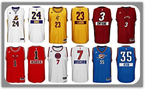 new year nba jersey 2015 photos nba s day jerseys feature names on