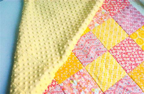 Quilt Backings by How To Make A Minky Backed Baby Quilt Weallsew