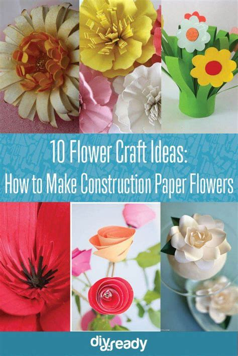 diy decorations with construction paper best 20 construction paper flowers ideas on