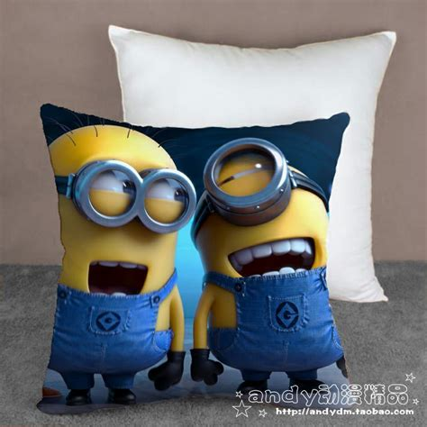 despicable me bed set one pieces despicable me 2 minions cartoon cushion bedding