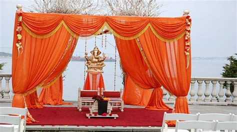 Indian Mandap Decorators Boston   Hindu Wedding Stage