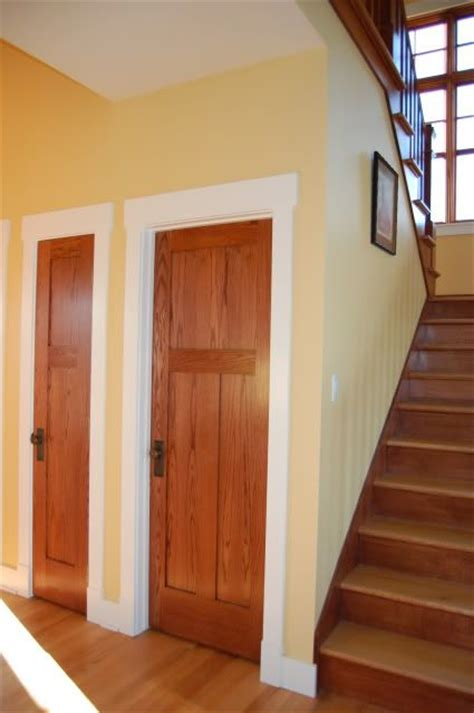 wood trim vs white trim wood doors white trim home stuff pinterest