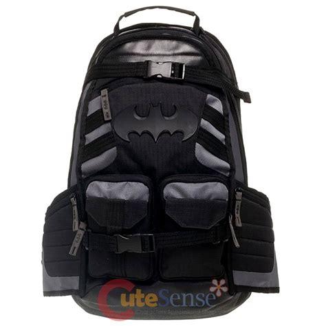 tactical backpack with laptop compartment dc comics batman black tactical backpack better built