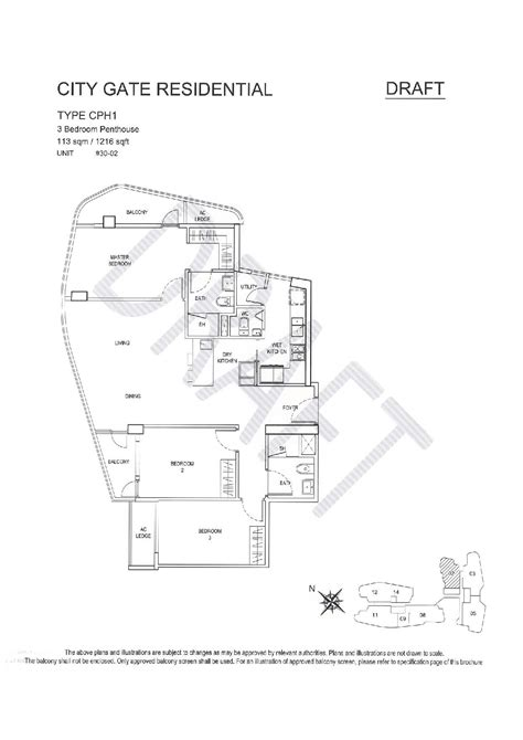 citygate floor plan city gate condo beach road register now 6590480660