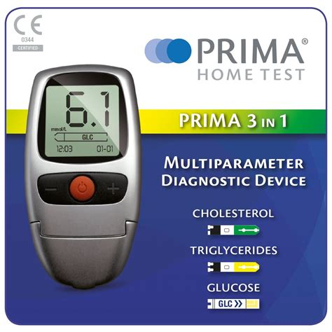 Cholesterol Meter 3 in 1 monitor for cholesterol triglycerides and blood glucose home health uk