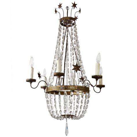 Tole Chandelier Italian Tole And Chandelier At 1stdibs