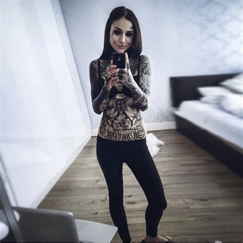 complete black arm tattoo q amp a with monami frost thrill