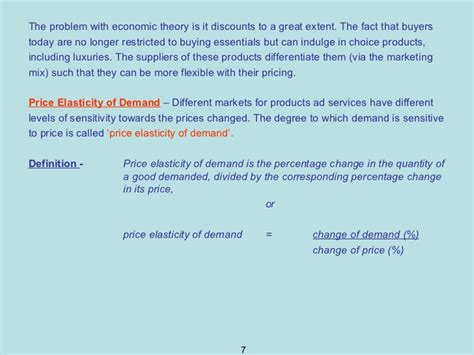 Mba Marketing Lecture Notes by Lecture 8 Mba Marketing Management Pricing