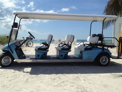 passenger golf cart rental vacation supply rentals