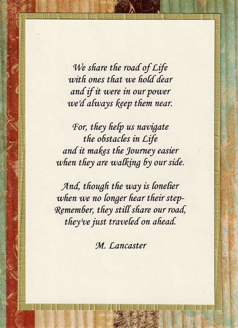 poems of comfort for loss of mother quotes death sympathy poem quotesgram