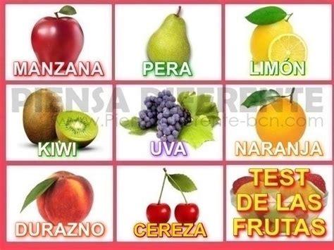 test psicologia test de las frutas de acuerdo con la psicolog 237 a emocional