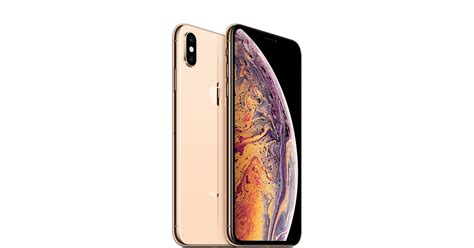 iphone xs max 64gb gold apple