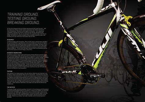Fuji Bike Graphic 1 fuji bikes 2012 catalog on behance