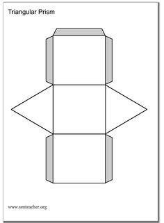 3 dimensional cube template shapes on templates 3d shapes and