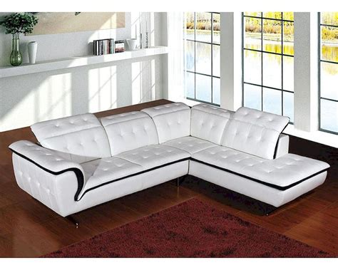 contemporary leather sectional sofas contemporary style leather sectional sofa 44l6023