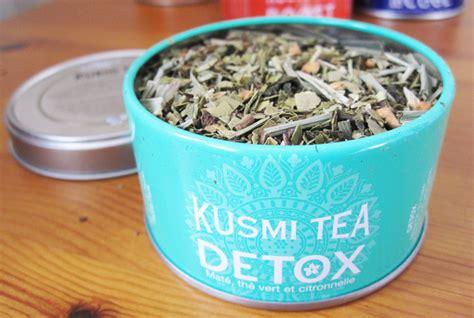 Kusmi Detox Tea Lemongrass by Foodie Friday Kusmi Tea The Wellness Set Review We