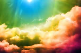 color clouds rainbow animated wallpaper desktopanimated