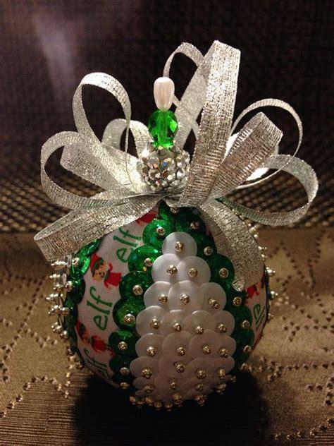 ideas  sequin ornaments  pinterest beaded