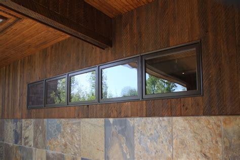 mountain modern ranchwood siding beams  interior