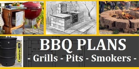 Bbq Plans Grills Pits Smokers Carts Free