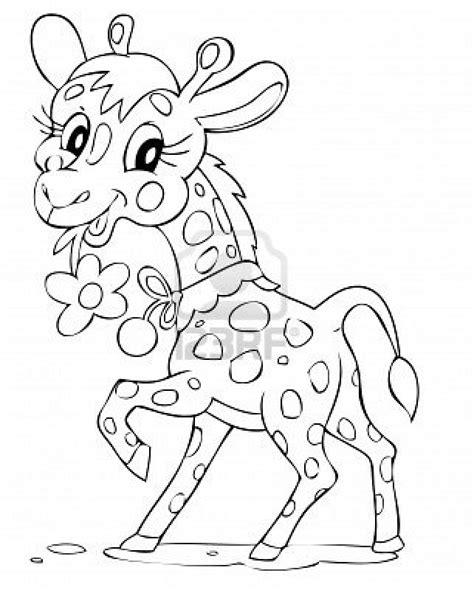 imagenes de jirafa para dibujar faciles jirafas para colorear