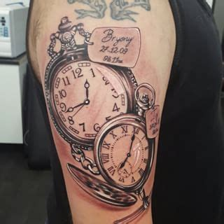 pocket watch tattoos for men pocket children search ink me up