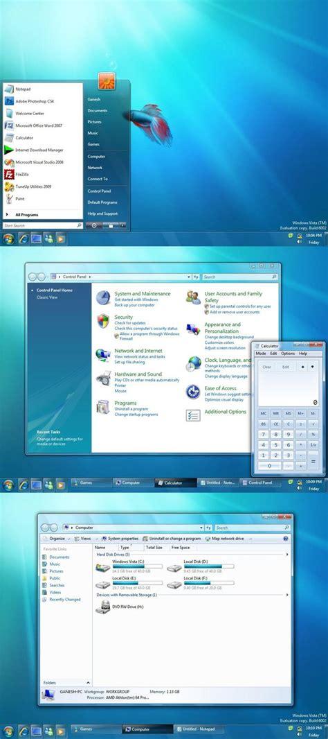 themes for windows 7 vista windows 7 theme v2 for vista by ganesh india on deviantart