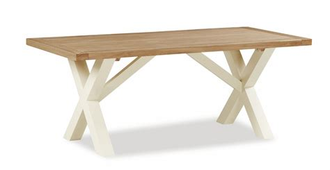 cross leg dining table country cross leg dining table
