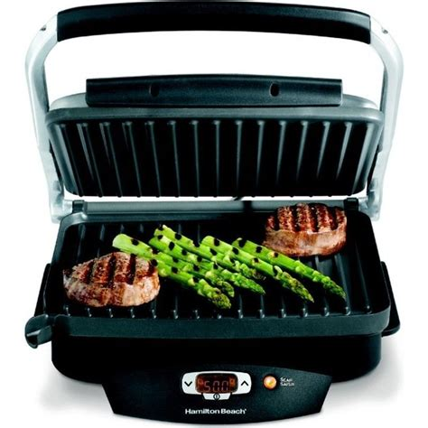Best Countertop Grill For Steaks steak lover 100 quot indoor electric grill 6 serving non