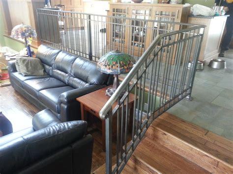 Aluminum Stair Railings Interior by Stair Rails Interior Sunset Metal Fab Inc