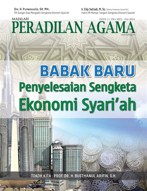Penyelesaian Sengketa Ekonomi Syariah Ori majalah pa edisi 3 des2013 by aldi monbusho issuu