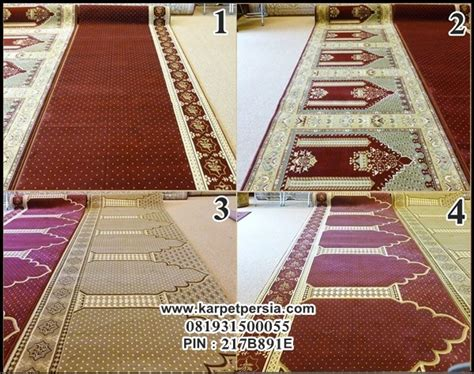Karpet Sajadah Single pusat distributor karpet turki sajadah masjid