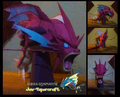 Ninjatoes Papercraft - ninjatoes papercraft weblog papercraft pok 233 mon mega gyo