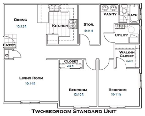 Garage Apartment Floor Plans 2 Bedrooms by 2 Bedroom Apartment Floor Plans Cabin