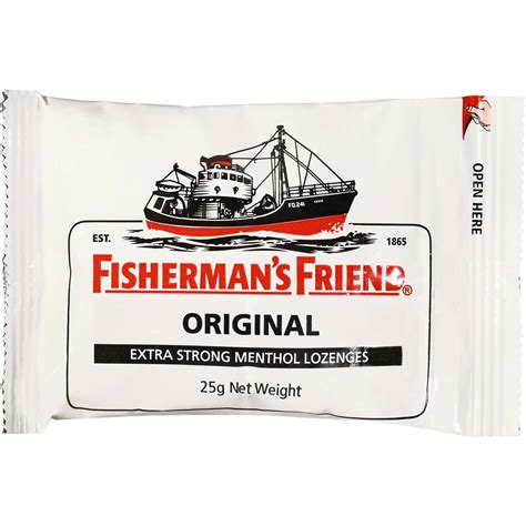 Fishermans Friend Strong Mint 25gr fisherman s friend mints strong 25g pack woolworths