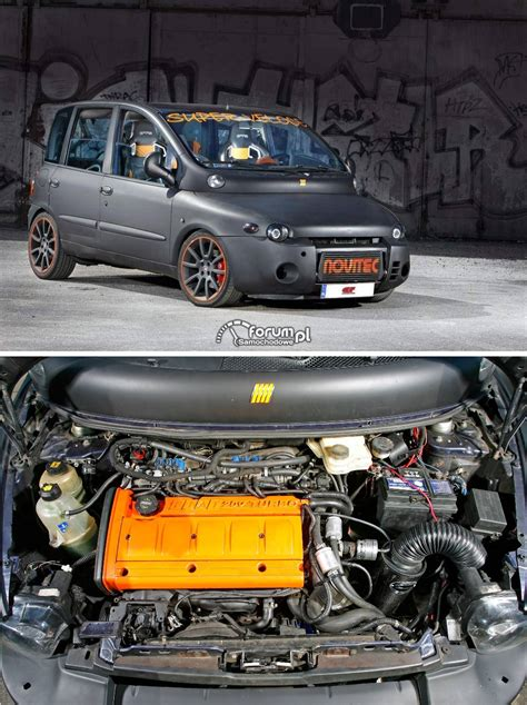 fiat multipla tuning fiat multipla fiat coup 233 2 0l 20vt 280cv engine the