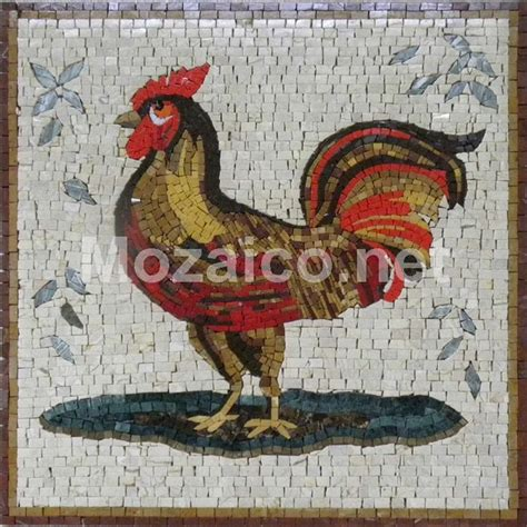 mosaic rooster pattern 17 best images about mosaic fowl on pinterest mosaics