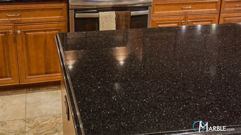 Black Galaxy Countertops by Galaxy Granite Kitchen Countertops