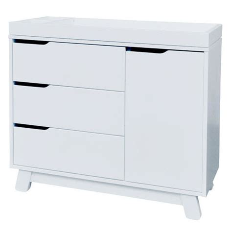White 3 Drawer Dresser by White Hudson 3 Drawer Changer Dresser By Babyletto