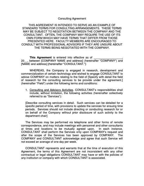 consultation agreement template consultation agreement template sletemplatess