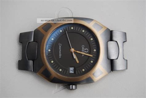 Michael Kors Uhren Gold 1333 by Omega Seamaster Titan Gold 120m Polaris Hau Quartz 18kt
